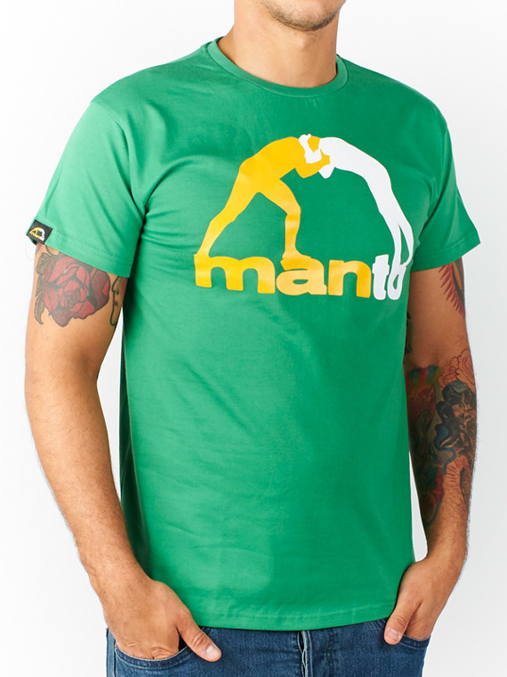 MANTO t-shirt CLASSIC  green