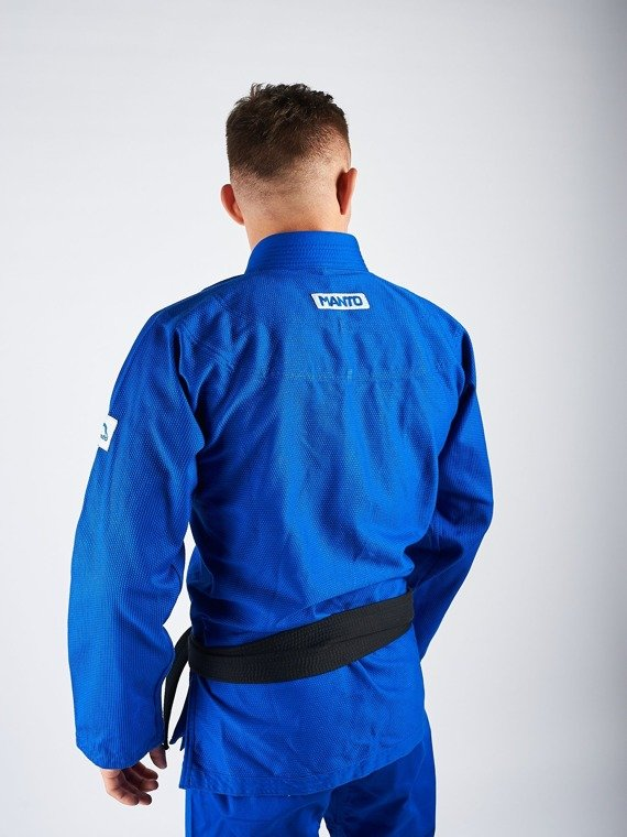 "MANTO ""BASE"" BJJ GI blue V1 + white belt"