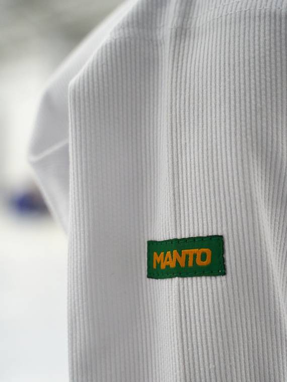 "MANTO  ""Junior BASIC"" Youth BJJ Gi white"