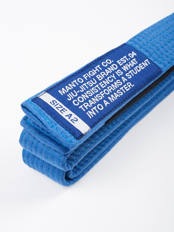 MANTO belt BJJ MOTTO blue