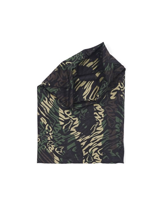 "MANTO multiscarf ""CAMO GREEN"""