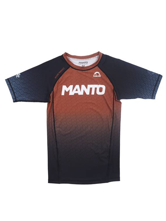 MANTO rashguard RANK brown