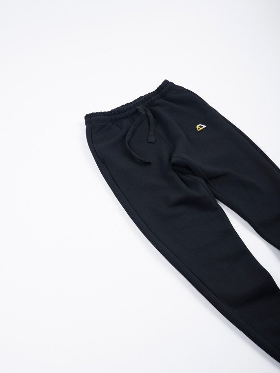 MANTO sweatpants EMBLEM black