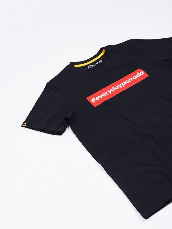 MANTO t-shirt EVERYDAYPORRADA black