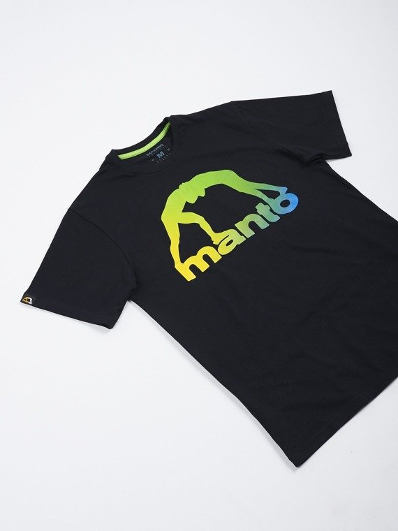MANTO t-shirt LOGO RIO black