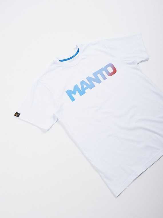 MANTO t-shirt LOGOTYPE MIAMI white