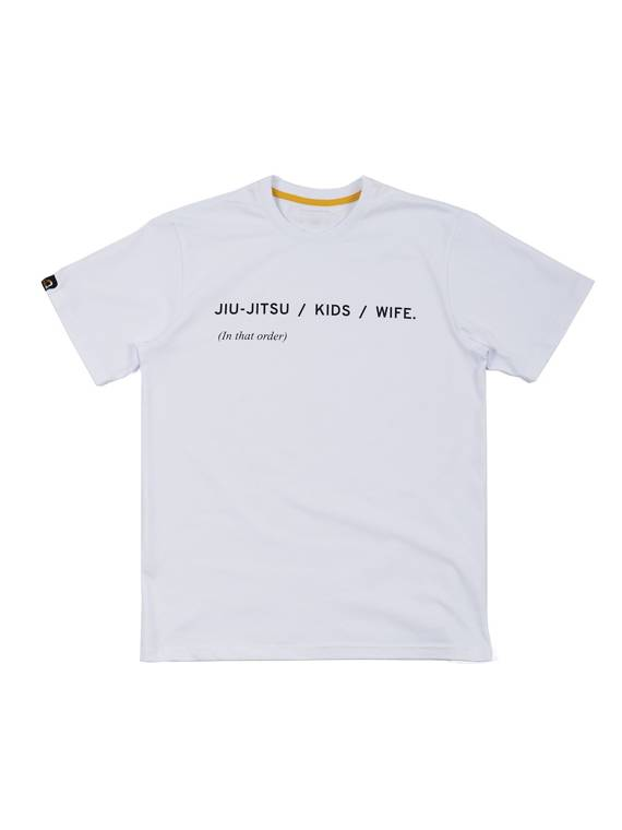 MANTO t-shirt PRIORITIES white