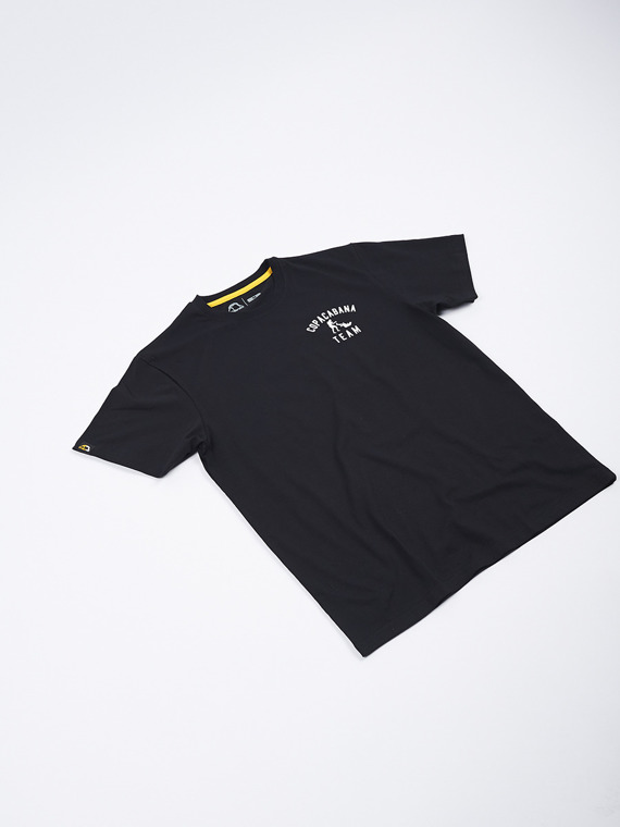 MANTO t-shirt STAMP black