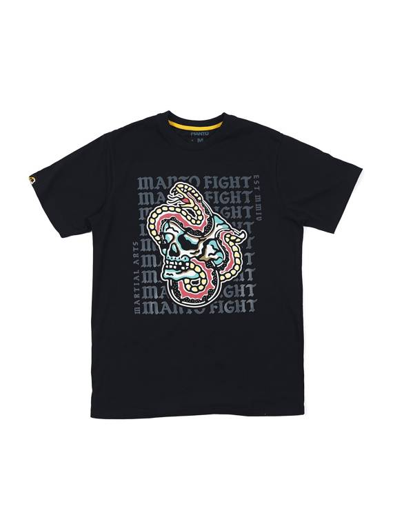 MANTO t-shirt TREASURE black