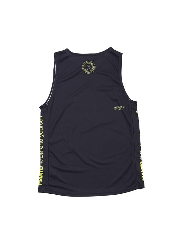 MANTO training tank top ALPHA black
