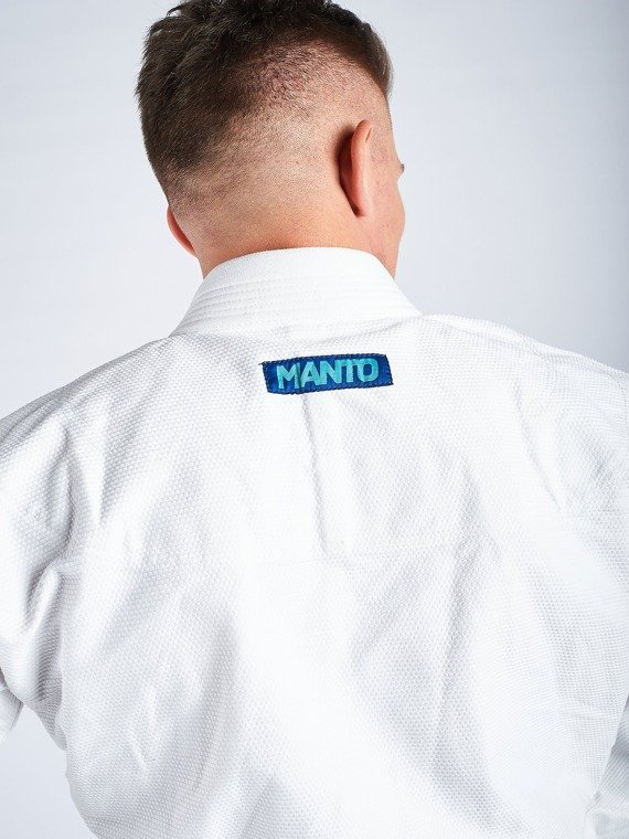 "MANTO ""BASE"" BJJ GI weiss V2 + white belt"