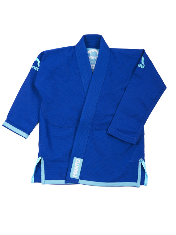 "MANTO ""Junior 2.0"" BJJ Gi blau"