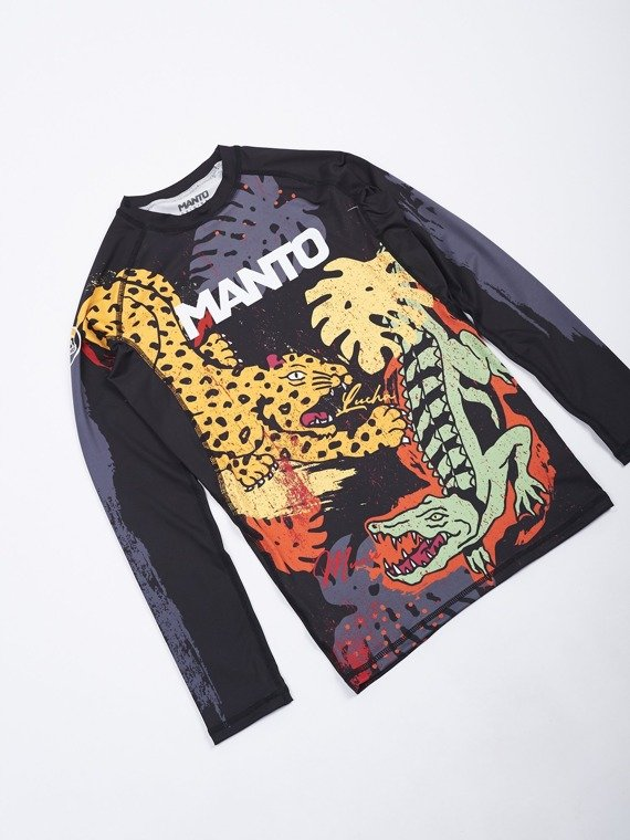 MANTO Langarm rashguard JUNGLE