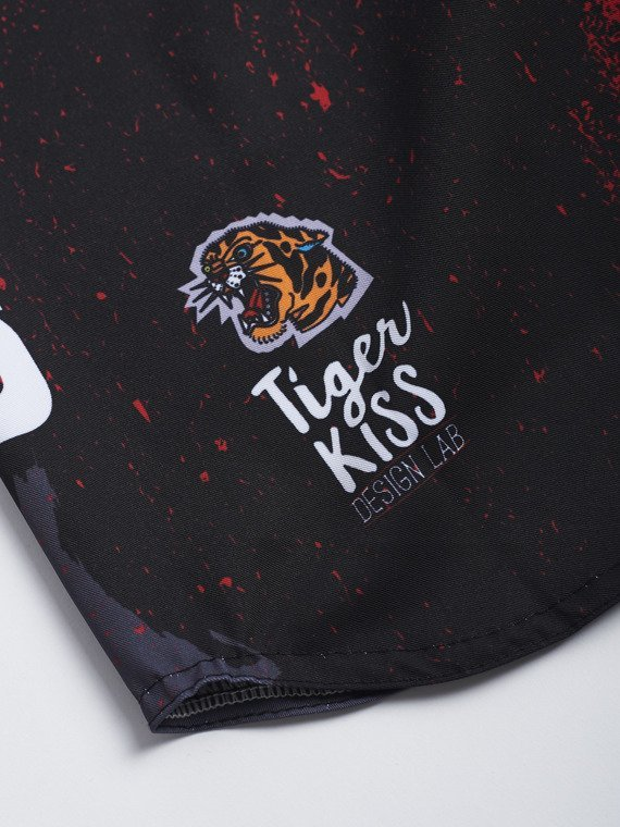 MANTO kids fight shorts JUNGLE
