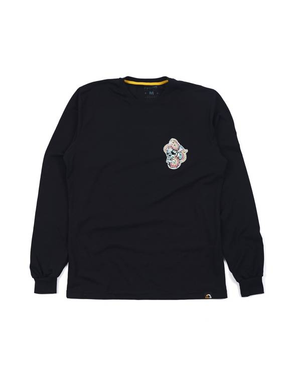 MANTO longsleeve TREASURE schwarz