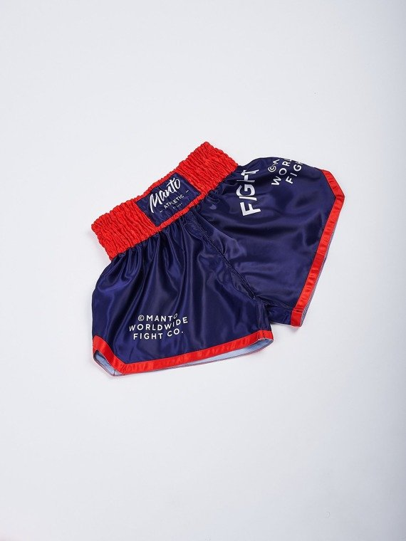 MANTO shorts MUAY THAI SUPPLY blau