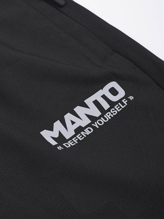 MANTO tracksuit pants MOVE black