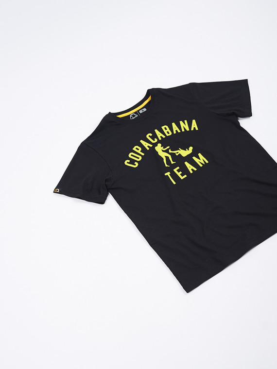 MANTO t-shirt TEAM czarna